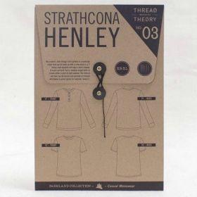 Patrón Camiseta hombre, Strathcona Henley T-shirt , The Thread Theory Patterns, PAPEL
