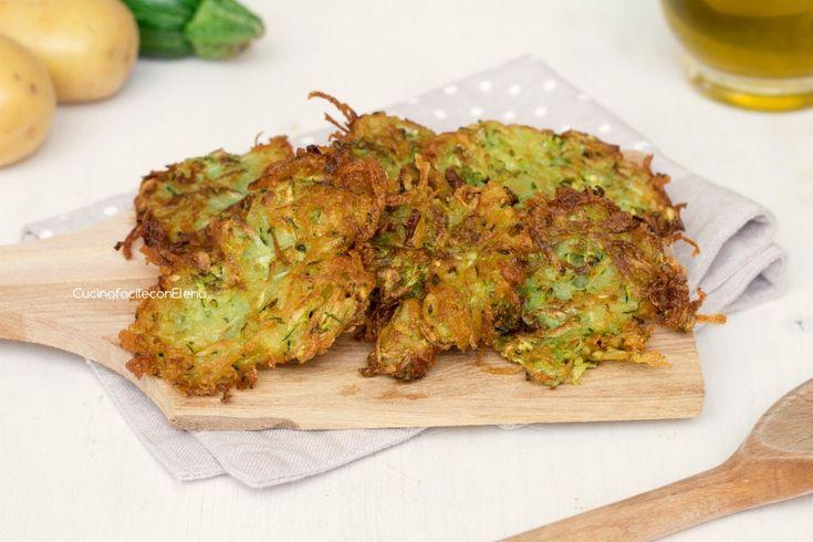 Frittelle di patate e zucchine velocissime