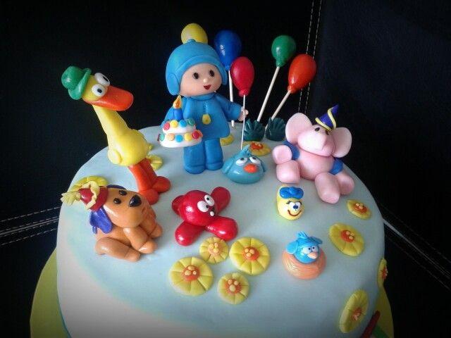 Mi torta de Pocoyo ♥