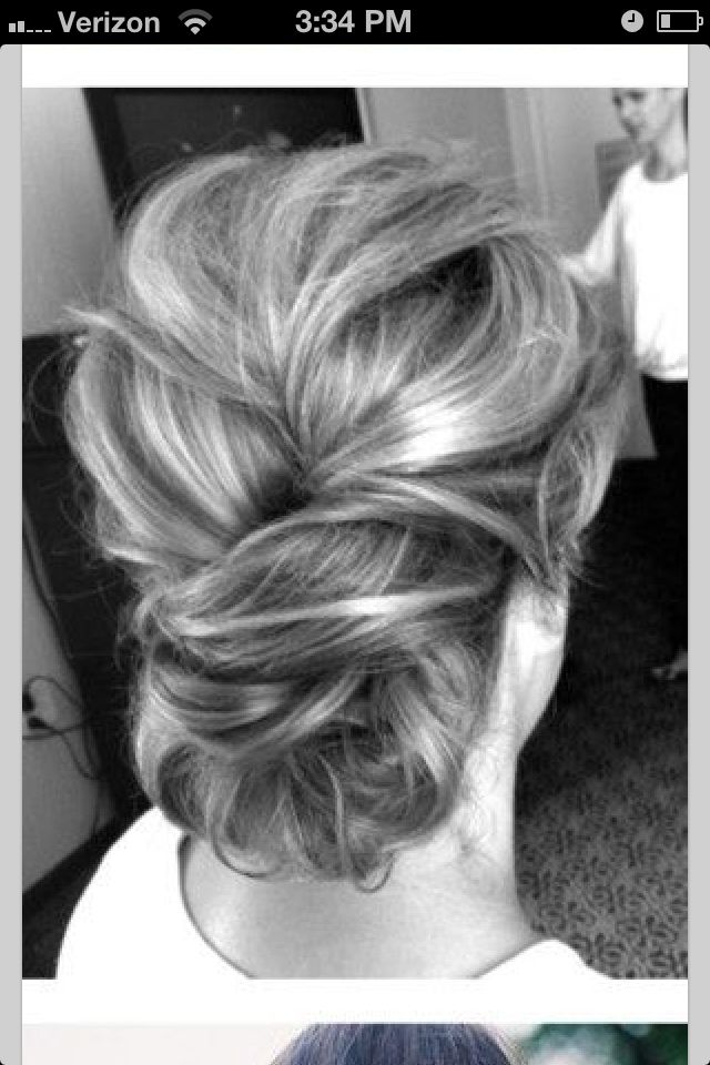 Cute updo - as a wedding guest