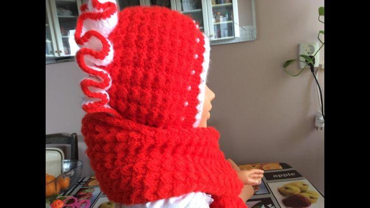 Căciulița tricotată. How to knit a cap.