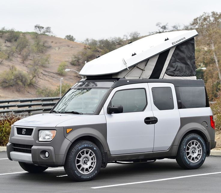 Turn A Honda Element Or Jeep Into A Popup Camper – RV Mods – RV Guides – RV Tips | DoItYourselfRV