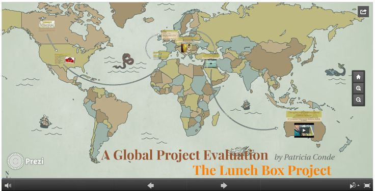 My Global Project Evaluation Activity for the Lunch Box Project - project evaluation