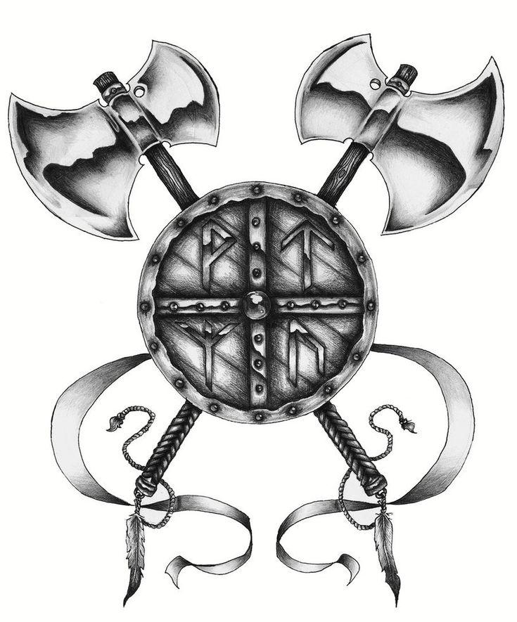 картинки с символикой викингов наталья знает хоккее