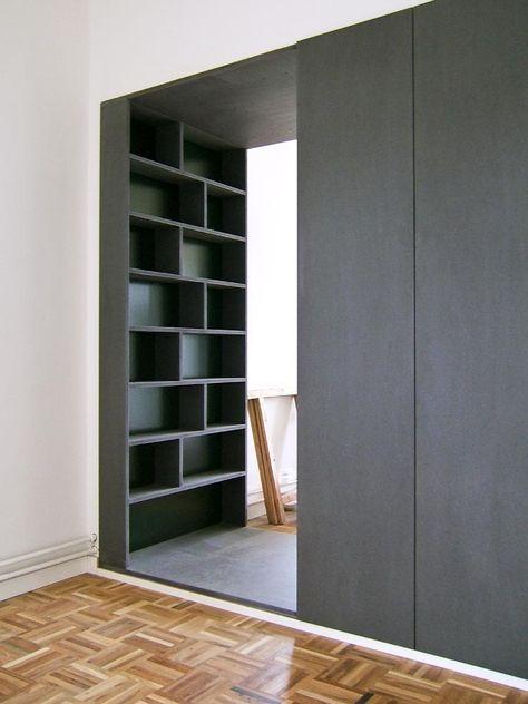 25 beste idee n over scheidingswand boekenkast op pinterest studio appartementen kleine for Decoreren een studio