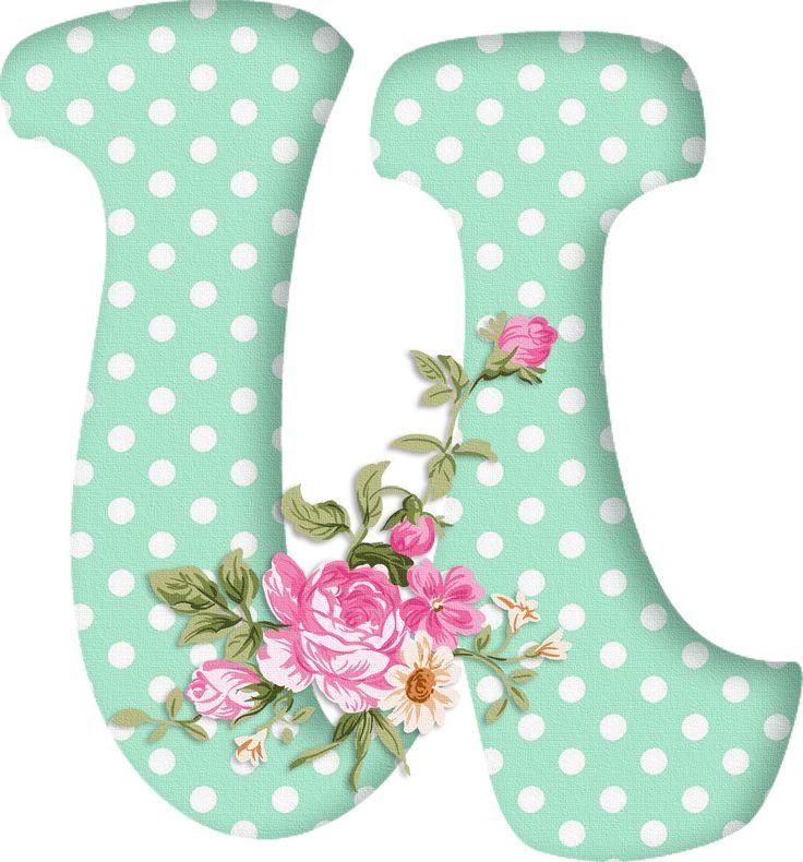 PAPIROLAS COLORIDAS: Abecedario con flores. Letras mayúsculas verdes, puntos blancos. Letra U. Vocal.