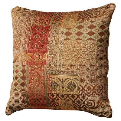 Lenzee Synthetic Polyfill Patchwork Throw Pillow Throw