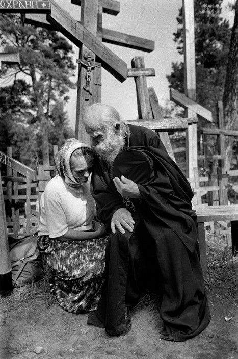 Magnum Photos - Cristina Garcia Rodero POLAND. Near the town of Siematycze. The Holy Mount of Grabarka (Holy Hill of Grabarka) is a sanctuary for orthodox christians in Poland.