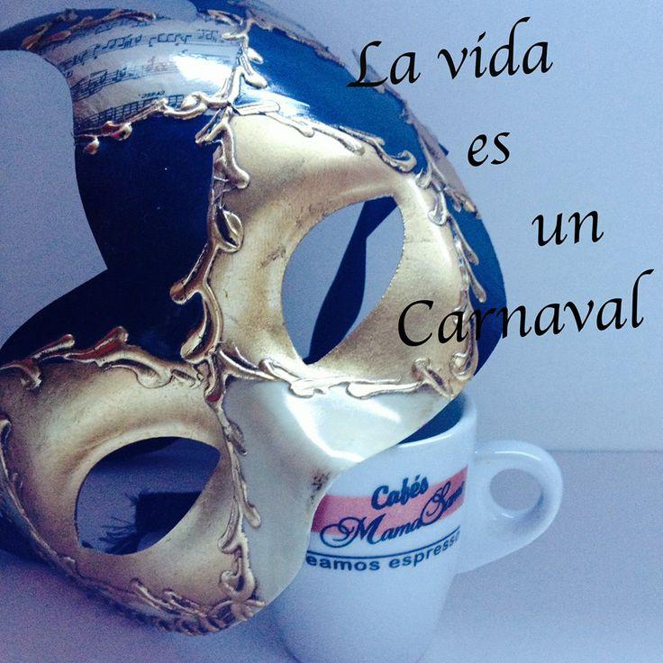 ♫ No hay que llorar que la vida es un #carnaval ♫ #carnival