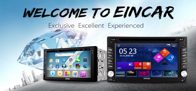 EinCar Official online store for Car Multimedia system, android car DVD player, in dash gps navigation, 2 din auto radio receiver, car audio, video, fm transmitter, and other EinCar auto parts. #formoredetails https://www.eincar.com