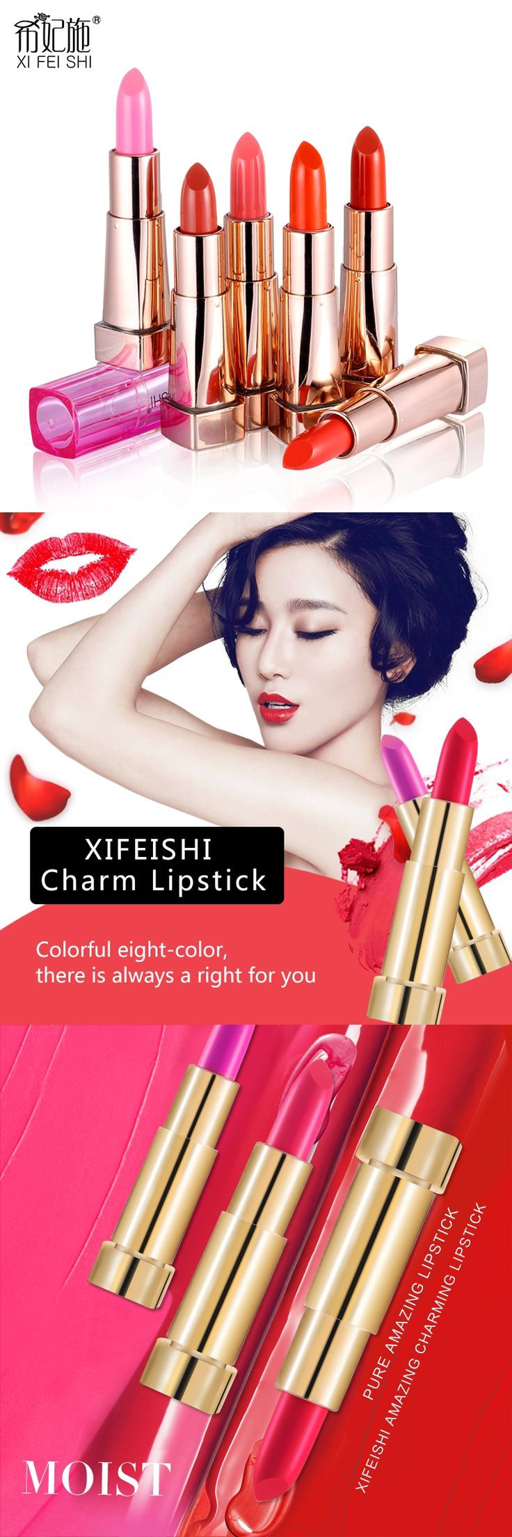 Hot Sale Matte Lipstick XIFEISHI Brand High Quality Waterproof Long Lasting Matte Lipstick Cosmetic Lips Private Custom Lipstick