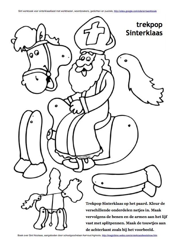 25 best Sint werkboek: werkbladen, puzzels, kleurplaten en