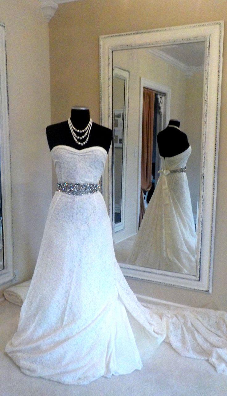 Custom Made Wedding Gowns - Pedestal