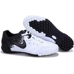 http://www.asneakers4u.com Nike5 Bomba Finale TF Astro Turf White and Black Nike5 Football Cleats