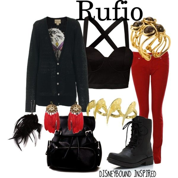 """Rufio"" by misledcreatures on Polyvore"