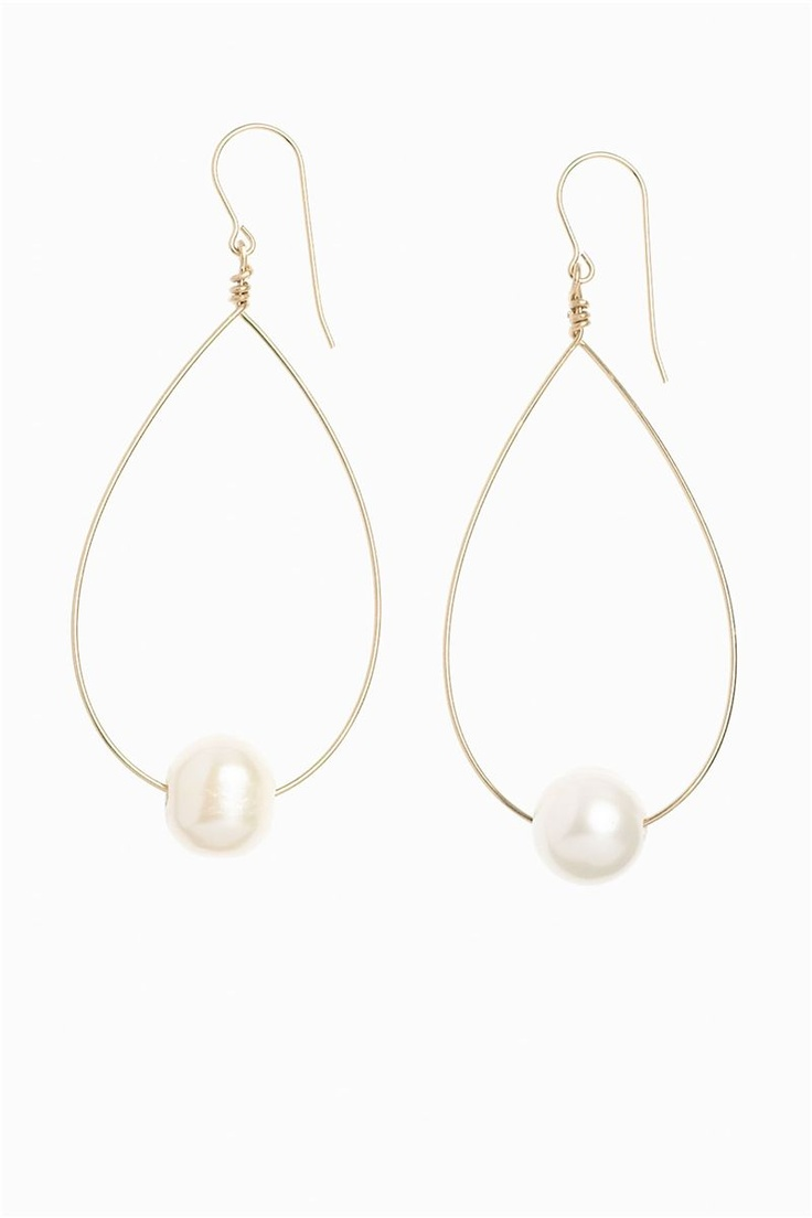 in2 design freshwater pearl earrings | Everything But Water