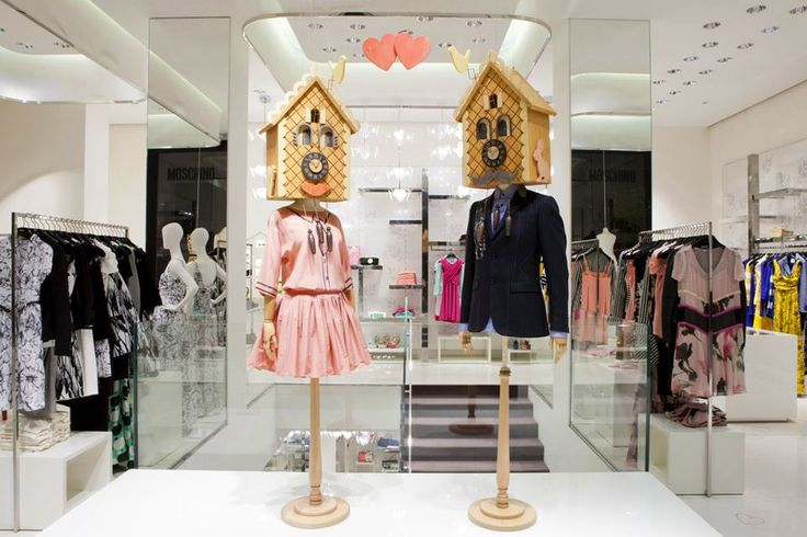 "MOSCHINO, Milan, Italy, ""Cuckoo, Cuckoo; O, word of fear, Unpleasing to a married ear!"" (Quote by William Shakespeare), pinned by Ton van der Veer"