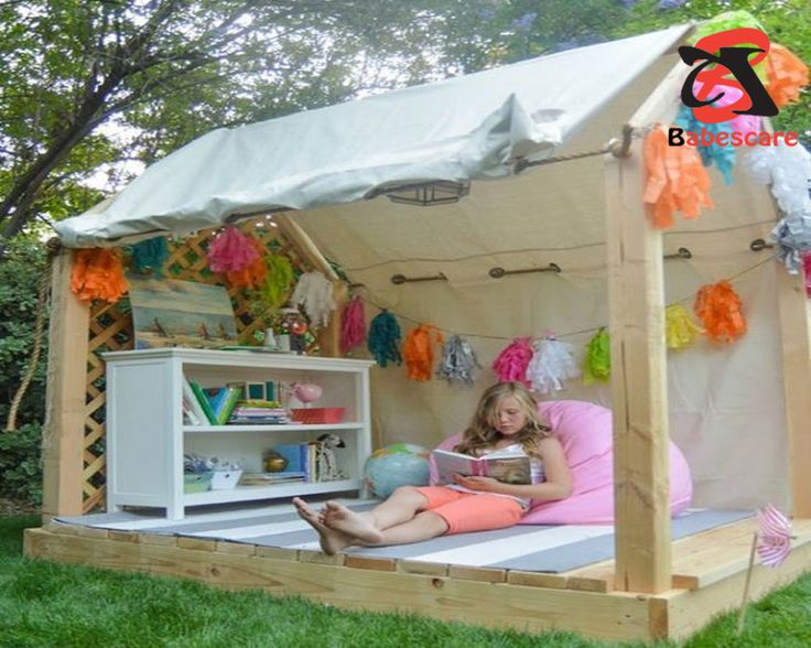 14 Best Relaxing Kids Outdoor Reading Nook Ideas For Your