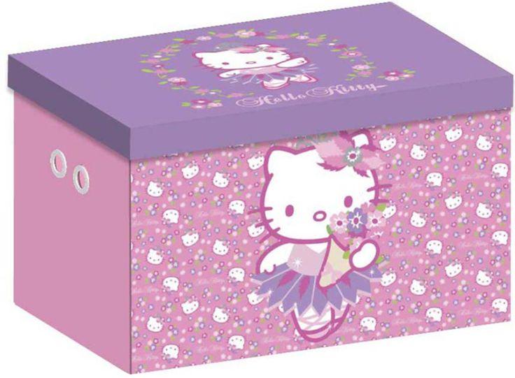 Osta Disney Säilytyslaatikko Canvas, Hello Kitty | Lastenhuone Säilytys | Jollyroom