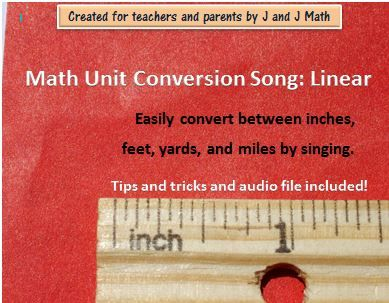 25 best images about math measurement conversions on pinterest math notebooks activities and. Black Bedroom Furniture Sets. Home Design Ideas