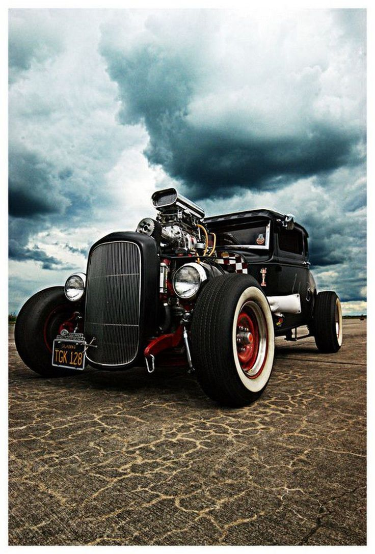 Afternoon drive hot rods and rat rods 25 photos