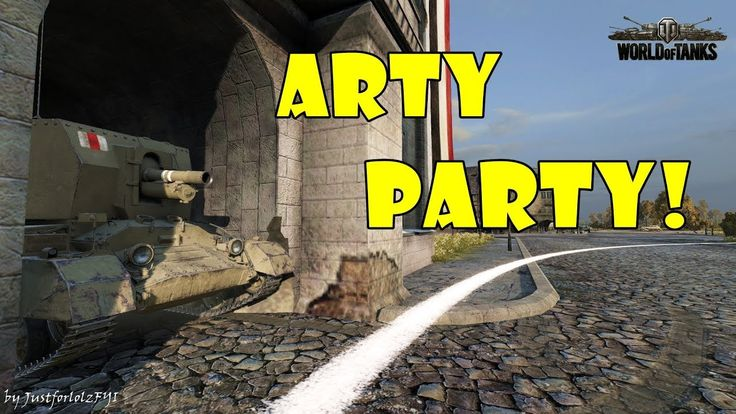 World of Tanks - Funny Moments | ARTY PARTY! #54