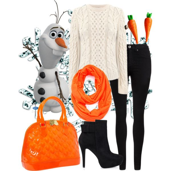 """Olaf"" by violetvd on Polyvore"