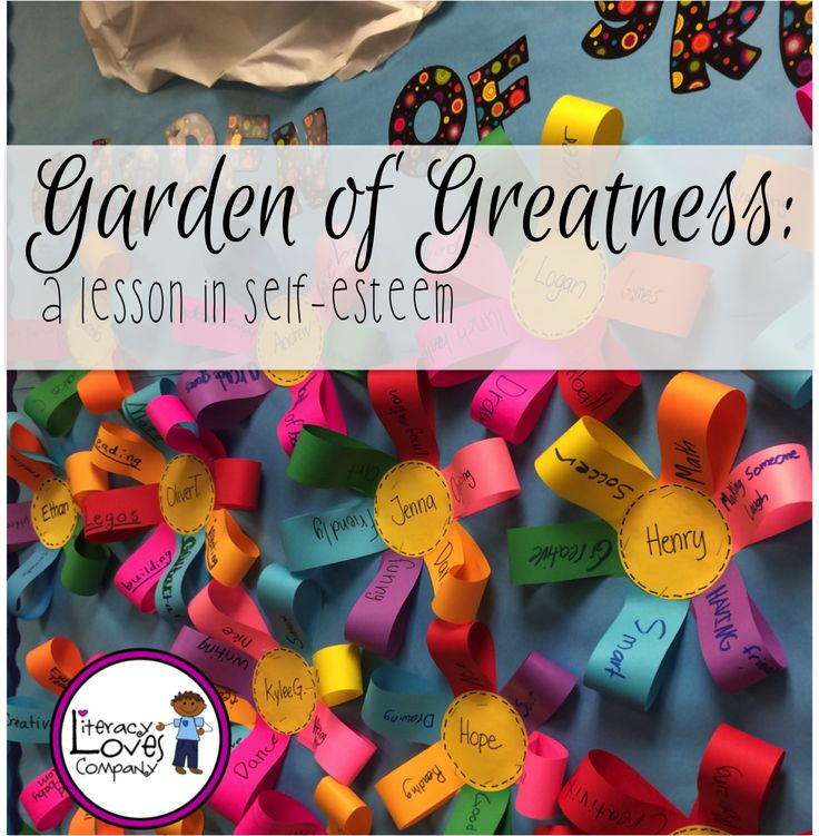 Garden of Greatness: a Lesson on Self-Esteem
