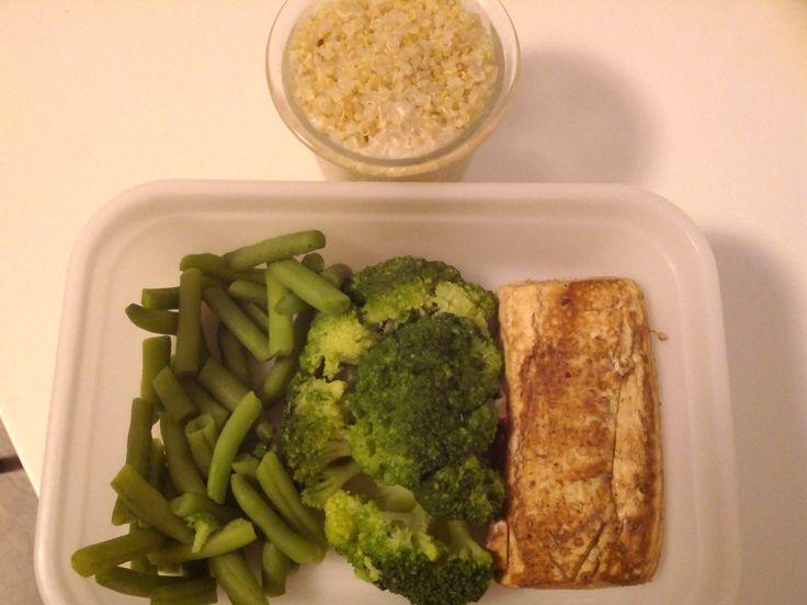 Quinoa, brokolice, fazolky, šmakoun :)