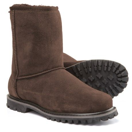 4fd0c07a8e08a LAMO Footwear Sheepskin Apres Ski Boots - Suede (For Men) | Gift ...