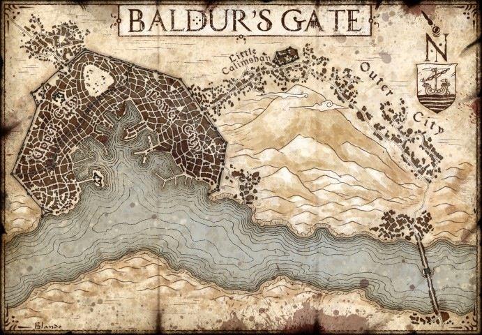 Image of The City of Baldur's Gate (Digital Download)