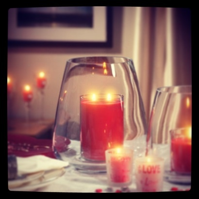 Snuggle up and stay warm during a storm! Enjoy cozy candlelight even if the power goes out. #CandleLOVE