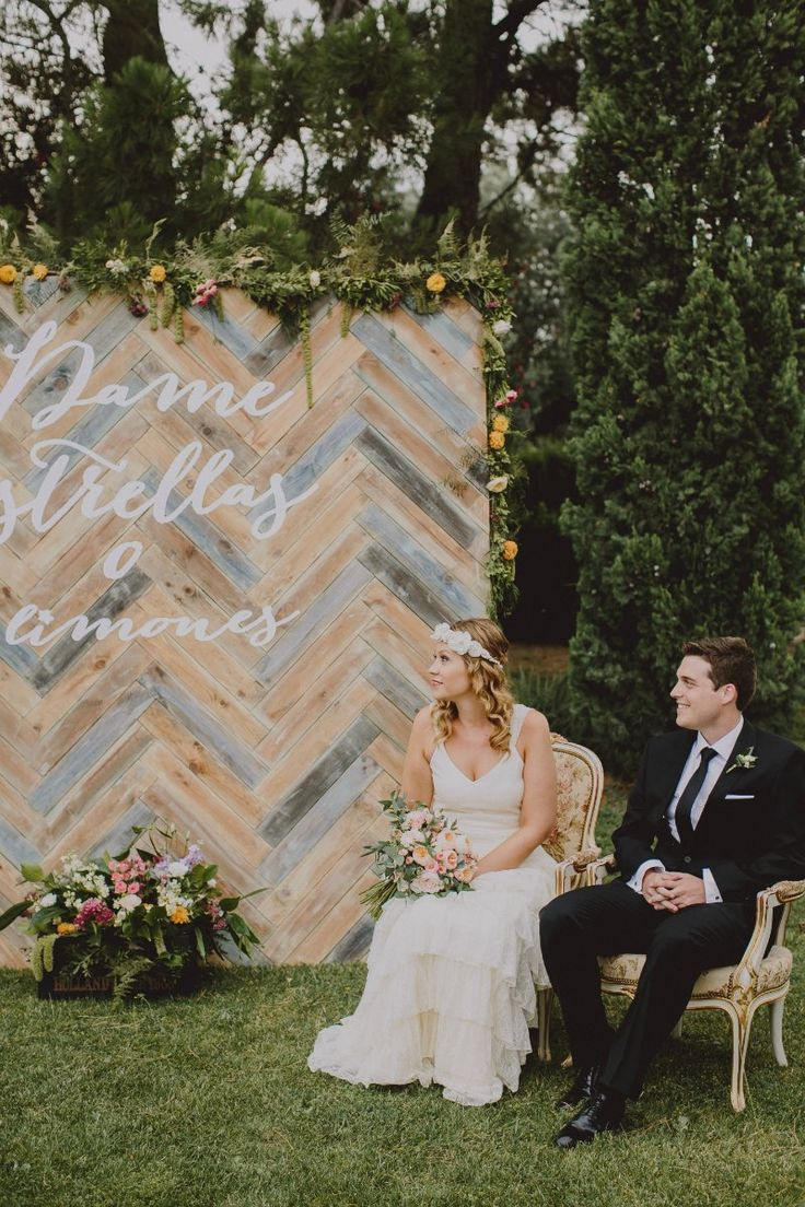 Decoración boda geométrica en All Lovely Party