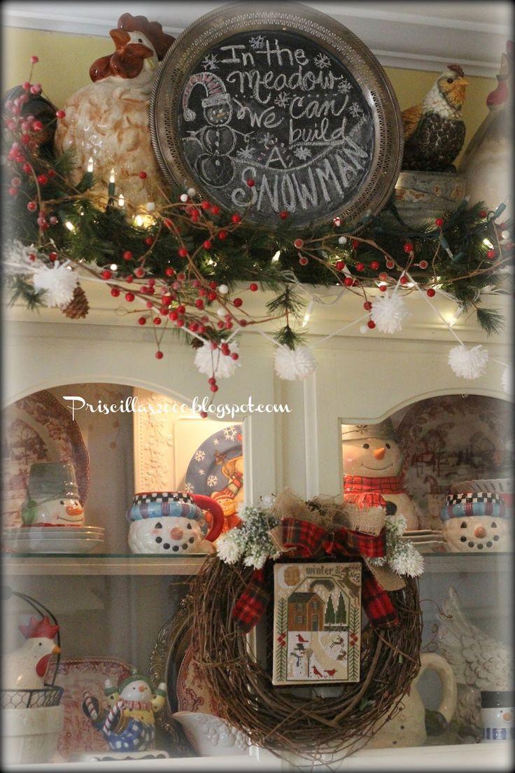 Priscillas: A Winter Stitchy Wreath
