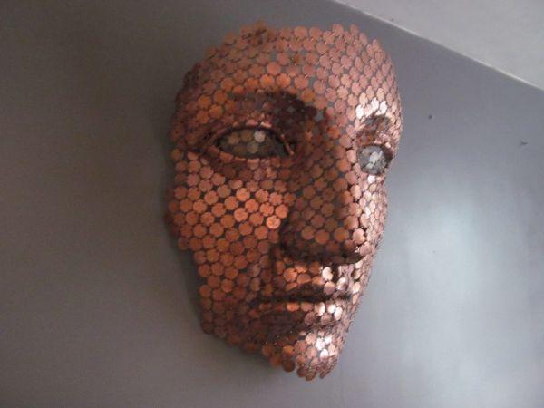 Metal coins #sculpture by #sculptor Shaun Gagg titled ...