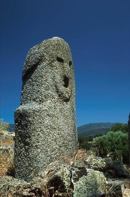 Menhir at Filitosa, Corsica