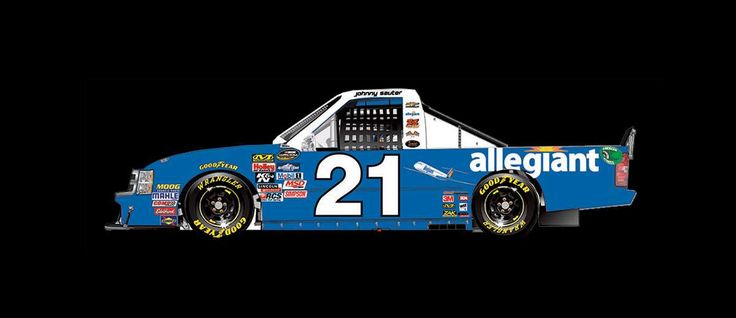 Paint Scheme Preview: Pocono and Texas  Wednesday, June 7, 2017  Johnny Sauter will drive the No. 21 Allegiant Travel Chevrolet.  Photo: 20 / 25