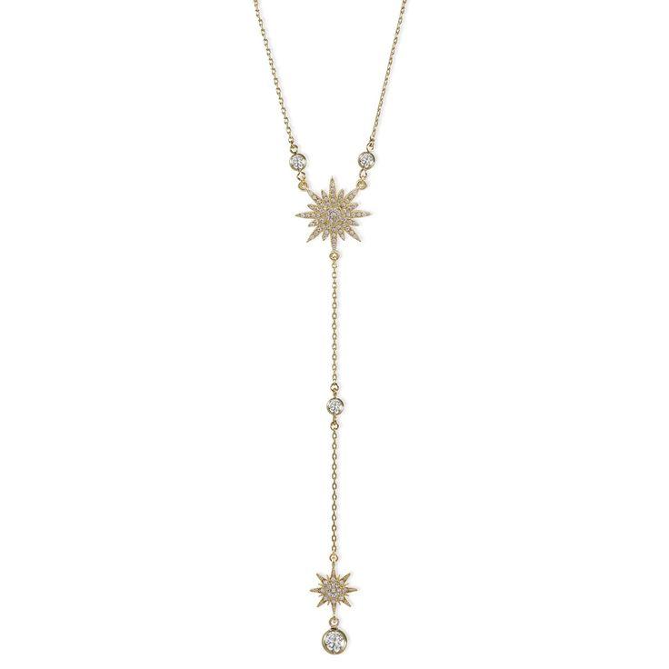 Colar Gravatinha Estrela de Pontas (Banho de ouro 18k, cravejado com zircônias) Místique Acessórios, Mistique Acessorios http://www.mistique.com.br/colares/colar-gravatinha-estrela-de-pontas #colar #cravejado #zircônias #cordao #cordão #ouro #estrela #estrelas #mistique #místique #acessorios #acessórios