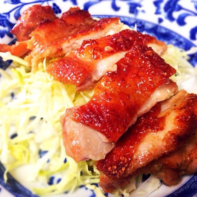 2月5日夕食メニュー ⚫︎鶏肉の照り焼き ⚫︎和風サラダ ⚫︎豚汁 - 10件のもぐもぐ - 鶏肉の照り焼き by 下宿hirota&メゾンhirota