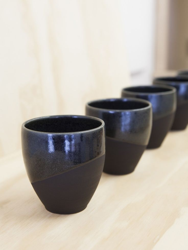 Lindsey Wherrett ceramics for sale at Made By Us, Hobart, a pop-up shop on Liverpool Street Hobart, supporting local designer/makers. Photo Bo Wong // Design Satellite