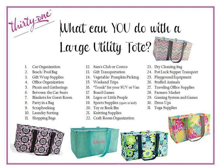 Large Utility Tote They are our June special!!! Spend $35 get large utility tote for $10!!!!! Message me for details on how to get yours!!!! :)