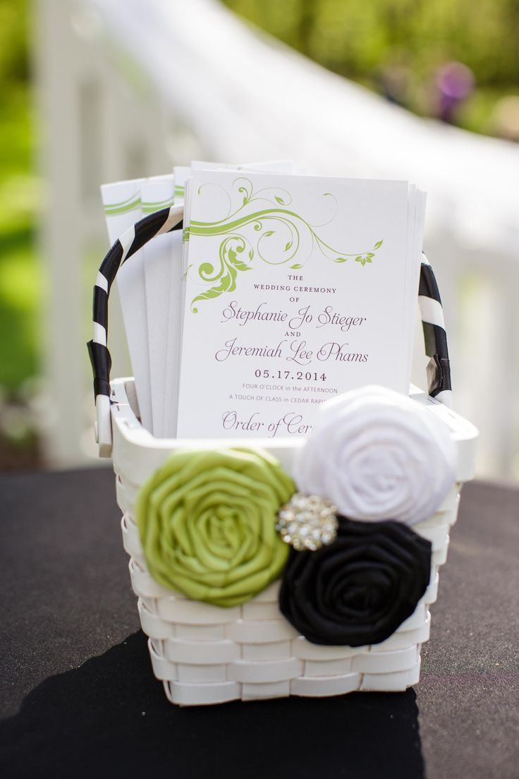 10 best Programs images on Pinterest | Bridal invitations ...