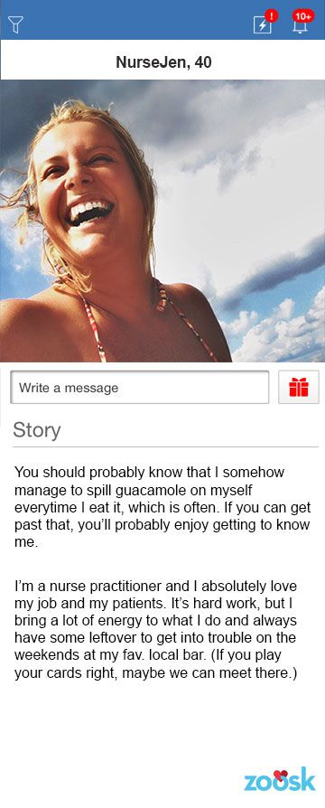 Messaging online dating example