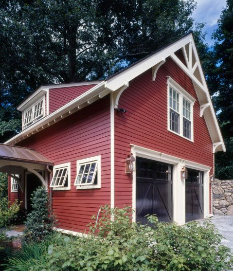 66 best carriage house images on pinterest exterior for Carriage garage plans