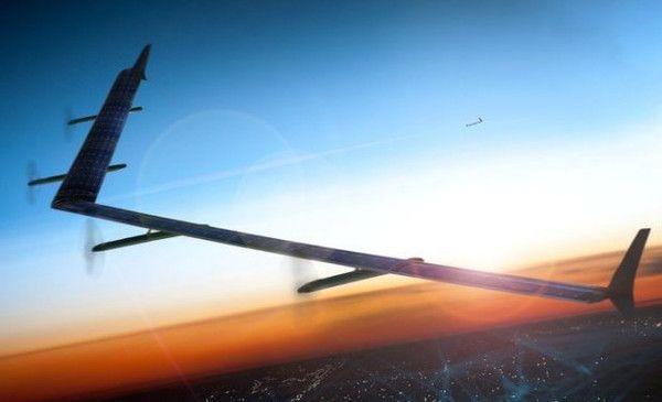 Facebook lance un drone solaire géant dans le cadre du projet Internet.org !