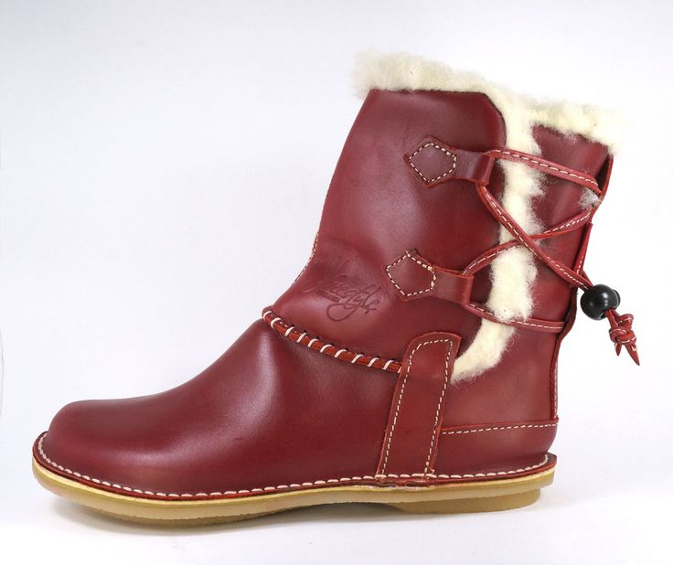 Freestyle (Crystal Red) NEW Annabelle Handmade Genuine Full Grain Leather. Pure Wool-Lined Half boot with Leather Thong Strapping Detail. R 1'489. Handcrafted in  Cape Town, South Africa.   Code: 309113  NEW.  See online shopping for sizes. Shop for Freestyle online https://www.thewhatnotshoes.co.za Free delivery within South Africa.