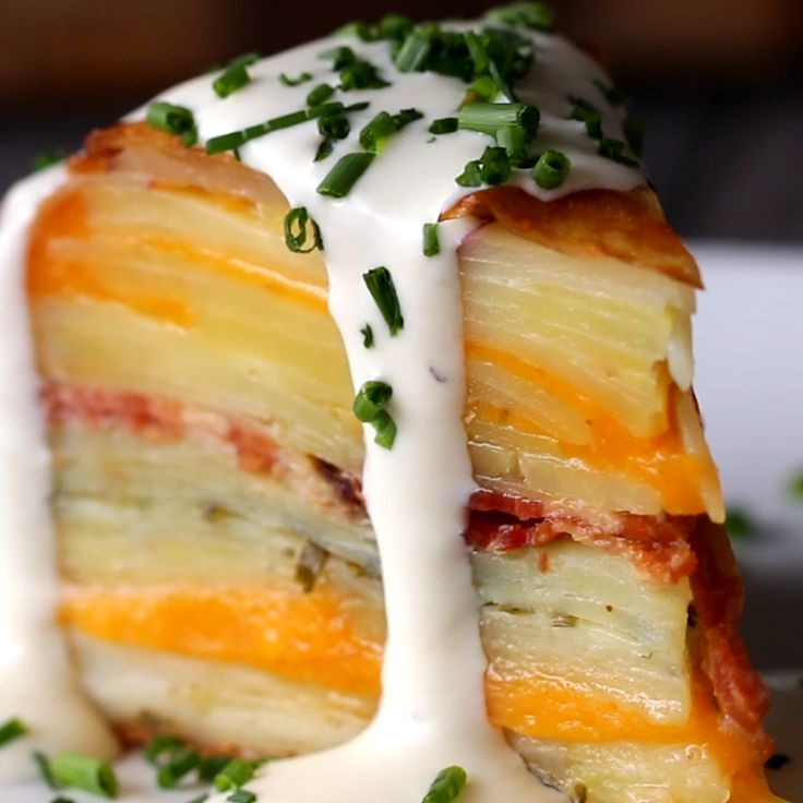 Loaded Scalloped Potato Dome