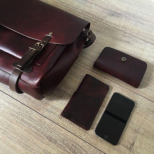 Bleu de Chauffe, sac Éclair - Éclair postman bag #mensbag #leather #madeinfrance