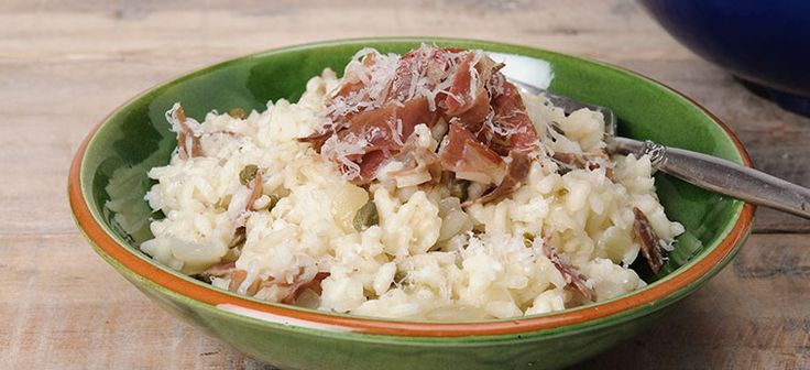 Risotto with Coppa & Capers