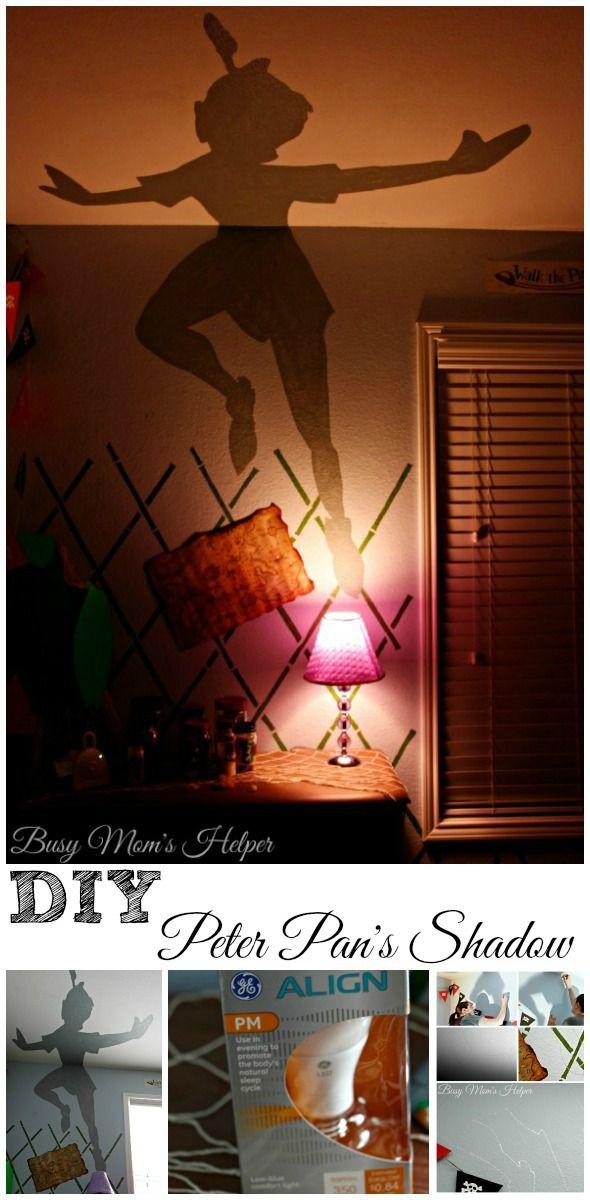 DIY Peter Pan Shadow / by Busy Mom's Helper #SleepAligned #ad